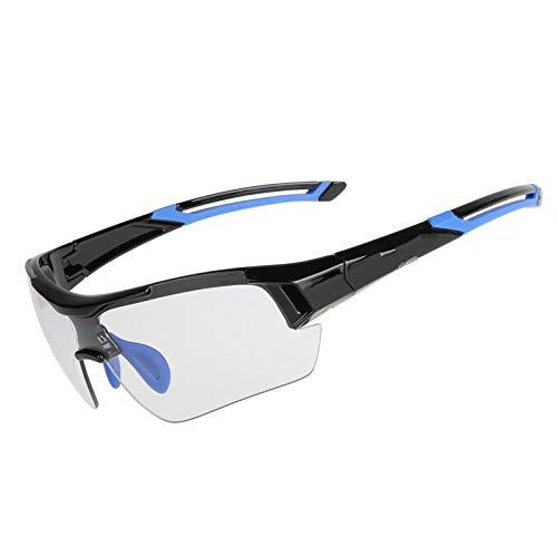 DAYANGE Photochrome Radfahren Gläser Verfärbung Gläser MTB Rennrad Sport Sonnenbrille Bike Brillen Anti-Uv-Fahrrad-Schutzbrillen