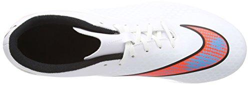 Nike Hypervenom Phade Fg, Chaussures de Football Compétition Homme Blanc - White (White/Total Crimson/Blue Lagoon/Black)