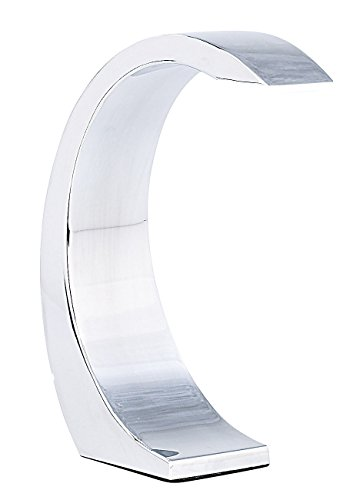 """Lunartec LED Tischleuchte: 5-Watt-LED Design-Tischlampe """"Silver Moon"""" mit Sensorschalter (LED Nachttischlampe)"""