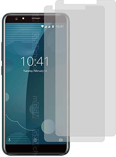 2X Crystal Clear klar Schutzfolie für Allview P10 Pro Bildschirmschutzfolie Displayschutzfolie Schutzhülle Bildschirmschutz Bildschirmfolie Folie