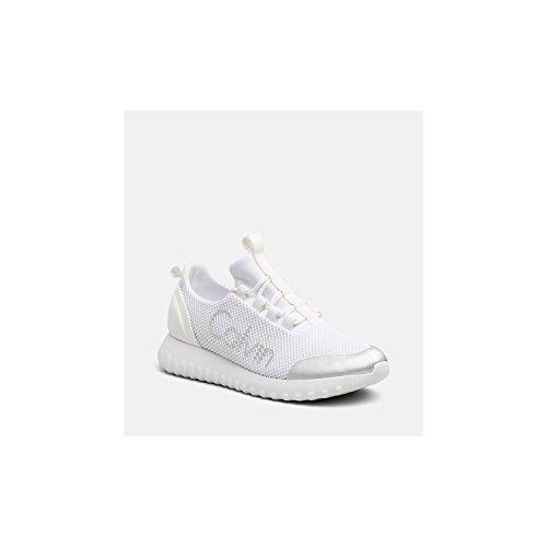 Calvin Klein Reika Noir White Silver R0666WHITESILVER, Turnschuhe - 39 EU