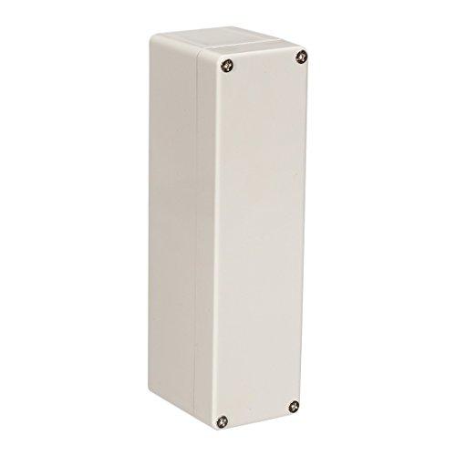 Sourcingmap - Caja de derivación electrónica de plástico ABS (160 x 55 x 45 mm), color gris