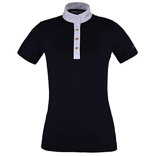 47037f2d27 Kingsland Equestrian Olivia Show Camisa de competición para Mujer - Azul -  Medium