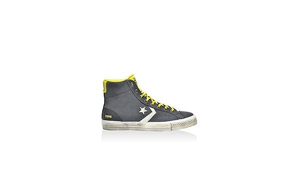 Converse Sneaker Alta Star Player Hi AntraciteGiallo EU 39