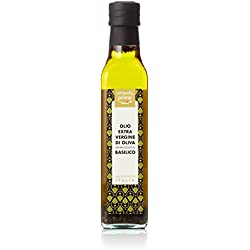 Marca Amazon - Wickedly Prime Aceite de oliva virgen extra con albahaca (6 x250ml)