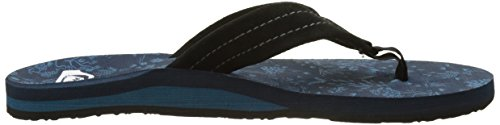 Art Black Quiksilver Carver Sandals black blue Herren Suede PZ1tAZ