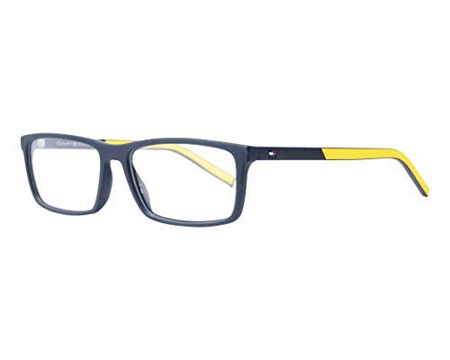 Tommy Hilfiger Brille (TH-1591 003) Acetate Kunststoff - Acetate-Kautschuk matt schwarz - gelbfarben