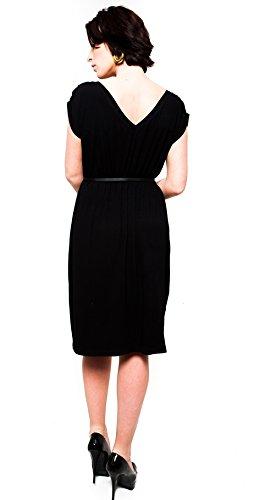Robe de grossesse 9003 Noir