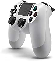 Sony PS4 Dualshock 4 Controller, White (Official Version)