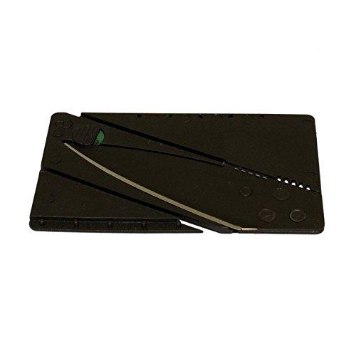 g8ds® Mission Knife Creditcard-Knife Kreditkarten-Messer passend für Geldbörse und Portemonnaie