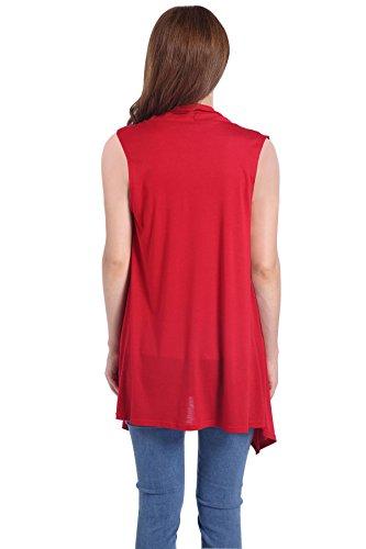 ICOCOPRO - Gilet - Sans Manche - Femme red