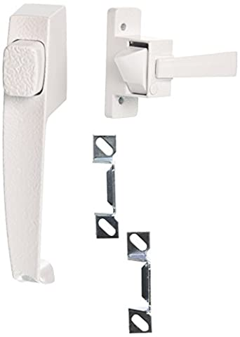 HAMPTON PRODUCTS-WRIGHT - Push-Button Door Latch, White
