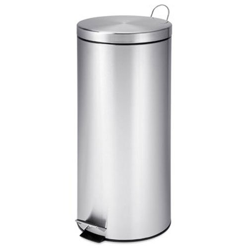 honey-can-do-trs-02110-rotonda-passo-trash-can-con-antiscivolo-in-acciaio-inox-cromato-8-litri