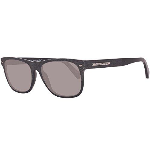 Occhiali da sole ermenegildo zegna ez0020 c54 01a (shiny black / smoke)