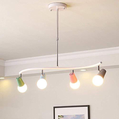 Moderne nette deckenpendelleuchte kreative welle design hängelampe für schlafzimmer küche wohnzimmer esszimmer tisch bar loft kronleuchter höhenverstellbare flecken drehbare bunte lampenschirm sc -