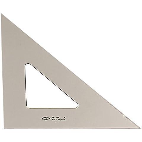 Smoke-Tint inchiostrazione 45/45/90 Triangolo 6In
