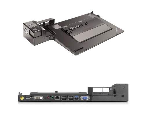 Lenovo Thinkpad 04W3587 ThinkPad Mini Dock Series 3 mit USB 3.0, für ThinkPad L412, L420, L430, L512, L520, L530, T400s, T410, T410i, T410s, T410si, T420, T420i, T420s, T420si, T430, T430i, T430s, T430si, T510, T510i, T520DC, T520iDC, T530, T530i, W530, X220, X230, X230i, OHNE NETZTEIL.