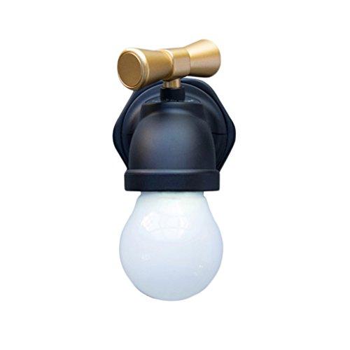 LED Retro Wasserhahn intelligente sprachaktivierte Nachtlicht, Flur Gang Dekoration Geschenk Wand lamp10cm * 8cm * 6cm (Manuell 6 Gänge)