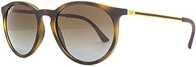 Ray-Ban Ojo de la cerradura polarizados gafas de sol redondas en la Habana RB4274 856/T5 53