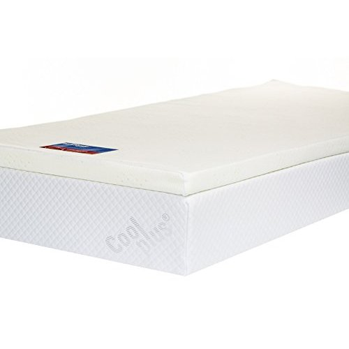 Southern Foam Memory Foam Mattress Topper with Cover, 2 inch – UK Single