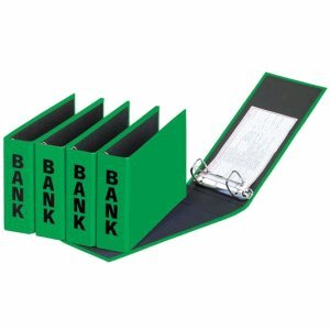 Basic Bank (Pagna Bankordner Basic Colors (Ordner Kontoauszüge)  grün)