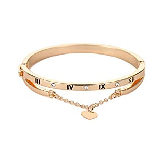 LSAltd Liebe römische Armband Digitale Quaste Herz Armband Armreif Kette Armband Schmuck