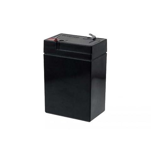 Batterie de remplacement pour FIAMM moto, voiture, quad et autre véhicule pour enfant 6V 4 5Ah, 6V, Lead-Acid [ Batterie au plomb ]