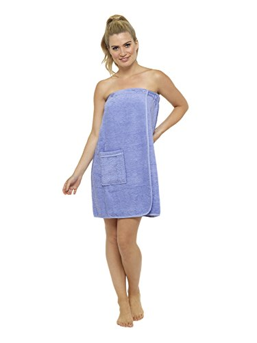 CityComfort Towel Wrap for Women 100% Cotton Highly Absorbent Terry Soft  Sarong Towel Shower Spa 53f7ca0d0