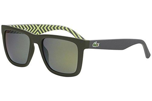 Lacoste l750s occhiali da sole uomo verde nosize
