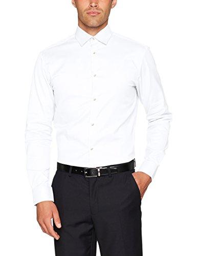 SELECTED HOMME Herren Businesshemd Shdonenew-Mark Shirt LS NOOS Weiß (Bright  White)