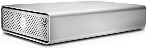 G-Technology G-Drive Thunderbolt 3USB Type-C 3.0(3.1Gen 1) 8000GB Silver External Hard Drive-External Hard Drives (8000GB, 7200RPM, HDD, 3.0(3.1Gen 1), USB Type-C, 205Mbit/s) (Externe Festplatte G-technology)