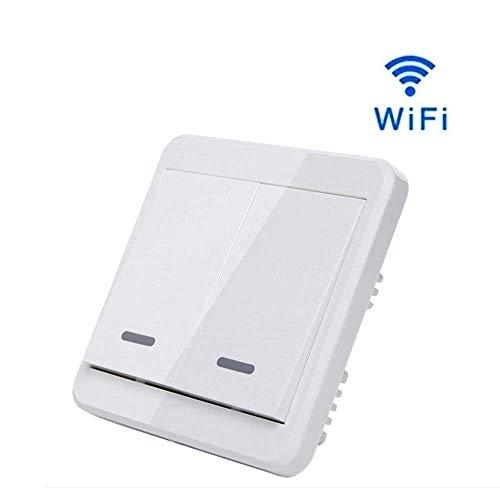 VISTANIA El Interruptor Ligero Elegante De WiFi 110~240V Trabaja con La Ayuda...