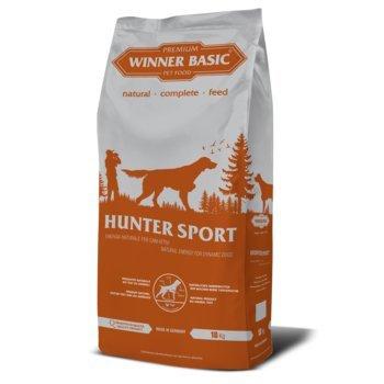 WINNER BASIC Hunter Sport 18 kg - Alimento completo per cani adulti attivi di tutte le razze