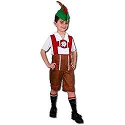 Disfraz tiroles niños de 10 años a 12 años