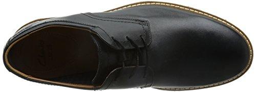 Clarks , Chaussures de ville à lacets pour homme Noir - Nero