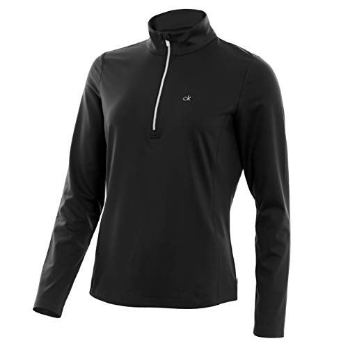31uAxdNU17L. SS500  - Calvin Klein Golf Womens 2019 Performance Trek HZ Top