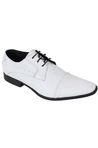 Pierre Cardin - Chaussures Pierre Cardin en cuir Biro Blanc