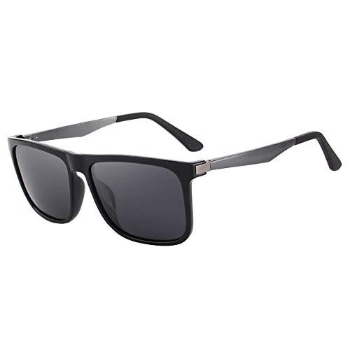 CHEREEKI Polarisierte Sonnenbrille UV400 Retro Vintage Brille für Herren und Damen