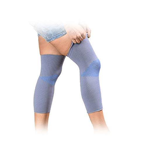 JSB BS61 Stretchable Knee Cap Support for Sports and Pain Relief (Pair) (L)
