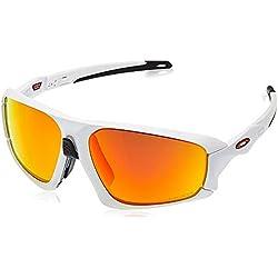OAKLEY Field Jacket Gafas de sol para Unisex, Blanco, 0