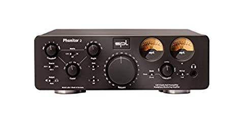 SPL Phonitor 2 120V Amplifier for Headphones, Active Speakers and Power Amplifier