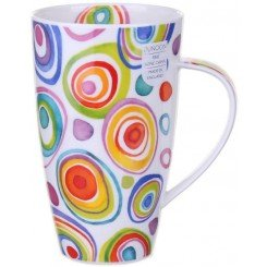Dunoon Zoobidoo Henley shape Fine Bone China Becher - Fine Bone China Swirl