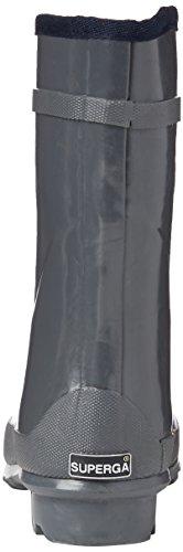 Superga 791-Rbrw, Stivali, Donna 133 Dk Grey