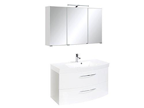 #Waschtisch-Set Bad Set Waschplatz Spiegelschrank Badezimmer#