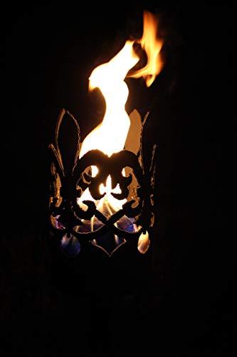 Feuerlaterne, Gartenfackel -