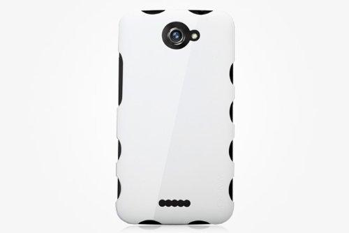 GGMM - Custodia octopus per HTC One X, colore: bianco perlato