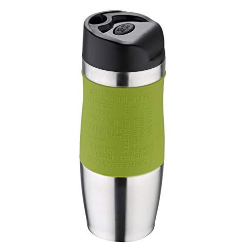 BERGNER Q1417 Travel - Thermos da Viaggio, da 21 cm, Colore: Verde