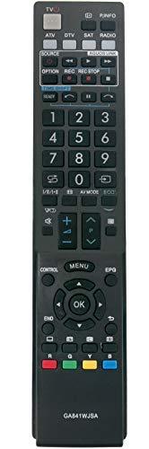 ALLIMITY GA841WJSA Telecomando Sostituisci per Sharp AQUOS RRMCGA841WJSA LC-32LE600E LC-32LU700S LC-32LU705E LC-32LX700RU LC-32LX705E LC-32SH130E LC-40LE600S LC-40LE700E LC-40LE705S LC-40LU700E