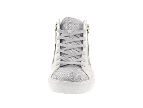 f137a6b733edbf ... Crime London 25325S17 JAVA MID - Damen Schuhe Sneaker Schnürer White ...