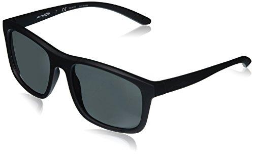 Arnette complementary, occhiali da sole unisex adulto, nero (matte black ), 57